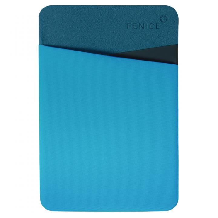 iPhone6/6 Plus ケース 貼るだけ簡単 ミニカバーポケット ブルー_0