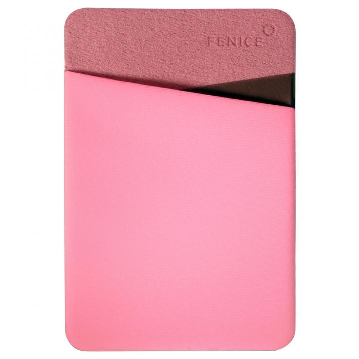 iPhone6/6 Plus ケース 貼るだけ簡単 ミニカバーポケット ピンク_0