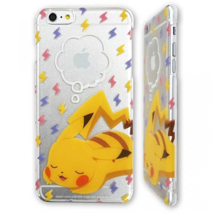 ポケットモンスター ハードケース おやすみピカチュウ iPhone 6 Plus