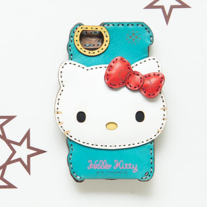 【iPhone SE/5s/5ケース】ハローキティ iPhone5s/5ケース/ブルー_0