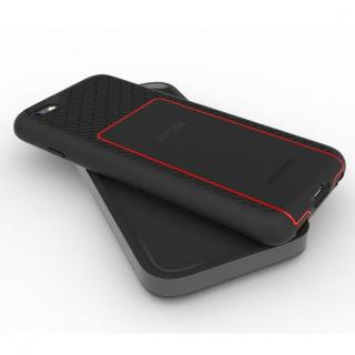 MFi認証ワイヤレス充電機能搭載タフケース BACKBONE レッド iPhone 6s/6