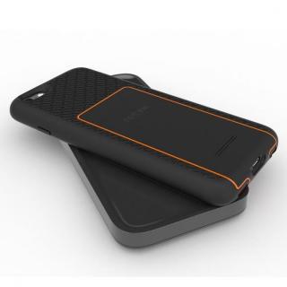 MFi認証ワイヤレス充電機能搭載タフケース BACKBONE オレンジ