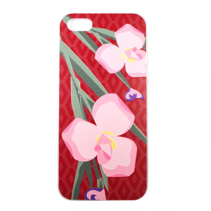 iPhone SE/5s/5 ケース WAMONケース 花笠 iPhone 5ケース_0