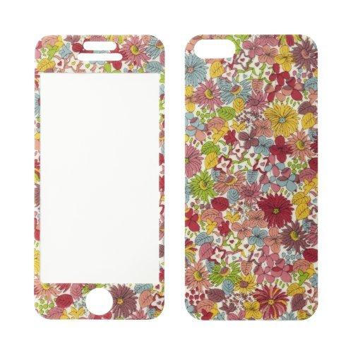 【iPhone SE/5s/5ケース】Fabric Sheets iPhone5スキンシール Liberty Art Fabrics Pebble_0