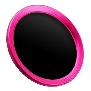 TouchID対応 ホームボタンシール iFinger ブラックピンク