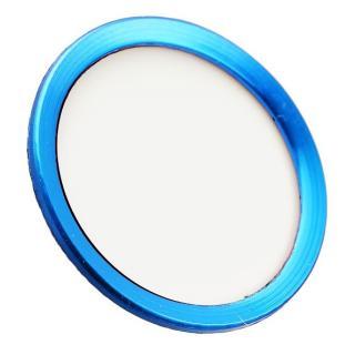 TouchID対応 ホームボタンシール iFinger ホワイトブルー