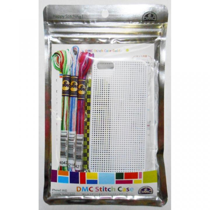 iPhone SE/5s/5 ケース 刺しゅうができるステッチケース White iPhone SE/5s/5ケース_0