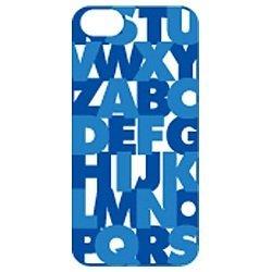 AtoZ Case  iPhone5 ブルー