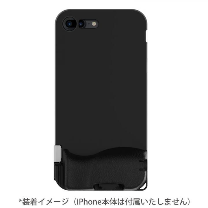 【iPhone7 Plusケース】SNAP! 7 物理シャッターボタン搭載ケース Basic ブラック iPhone 7 Plus_0