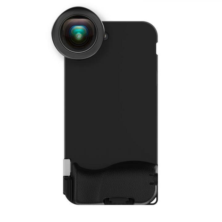 iPhone7 Plus ケース SNAP! 7 Photographer Set ケース+HDワイドアングルレンズ EF 18mm ブラック iPhone 7 Plus_0