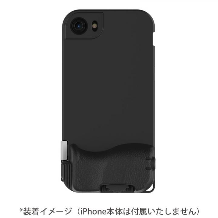 iPhone7 ケース SNAP! 7 物理シャッターボタン搭載ケース Basic ブラック iPhone 7_0