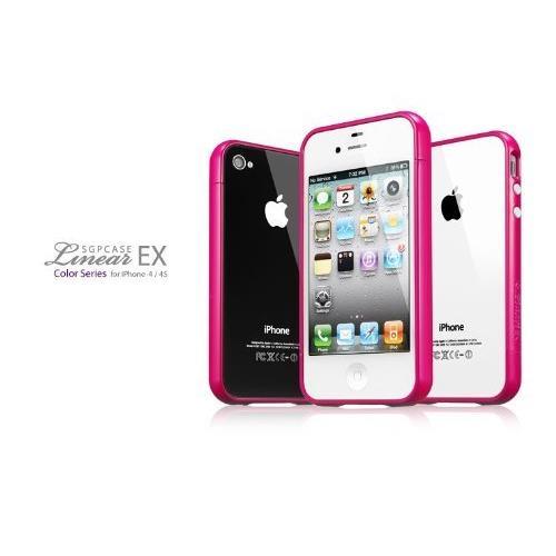 Spigen iPhone4/4s ケース ホットピンク