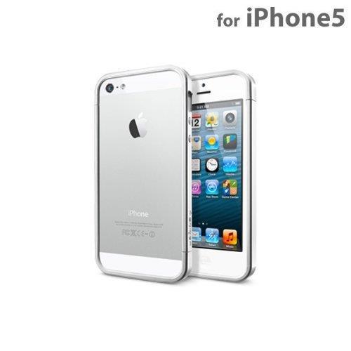 iPhone SE/5s/5 ケース Spigen iPhone SE/5s/5 ケース リニア EX サテンシルバー_0