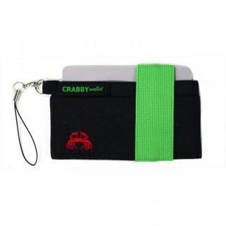 スマホに巻ける財布 Crabby Wallet V2 スポーティゴム版 グリーン