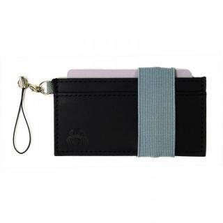 スマホに巻ける財布 Crabby Wallet L3 ビジネスレザー版 ブラック