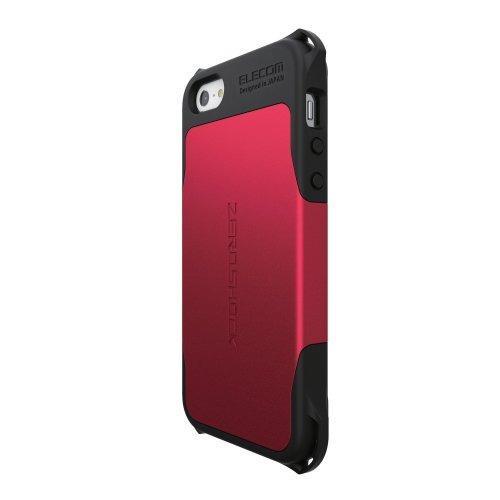 iPhone SE/5s/5 ケース ZEROSHOCKケース レッド iPhone SE/5s/5ケース_0