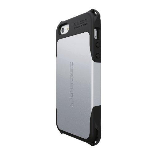 iPhone SE/5s/5 ケース ZEROSHOCKケース シルバー iPhone SE/5s/5ケース_0