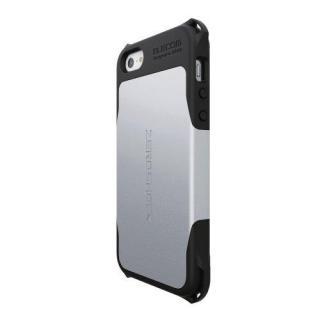 ZEROSHOCKケース シルバー iPhone SE/5s/5ケース