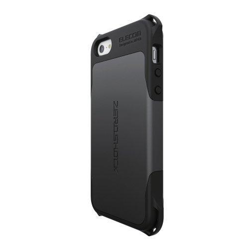 ZEROSHOCKケース ブラック iPhone SE/5s/5ケース