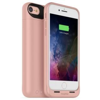 【iPhone7ケース】[2525mAh]ワイヤレス充電機能搭載 バッテリー内蔵ケース mophie juice pack air ローズゴールド iPhone 7【12月上旬】