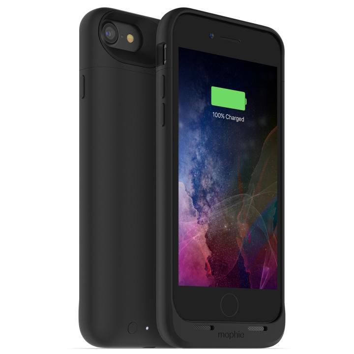 [2525mAh]ワイヤレス充電機能搭載 バッテリー内蔵ケース mophie juice pack air ブラック iPhone 7