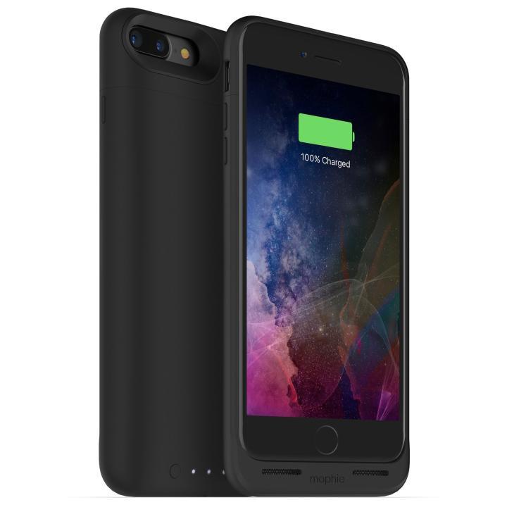 【iPhone7 Plusケース】[2420mAh]ワイヤレス充電機能搭載 バッテリー内蔵ケース mophie juice pack air ブラック iPhone 7 Plus【11月中旬】_0