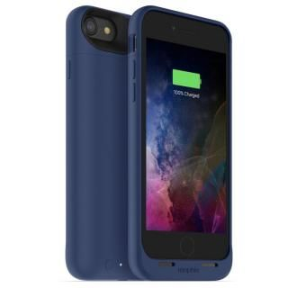 [2525mAh]ワイヤレス充電機能搭載 バッテリー内蔵ケース mophie juice pack air ブルー iPhone 7