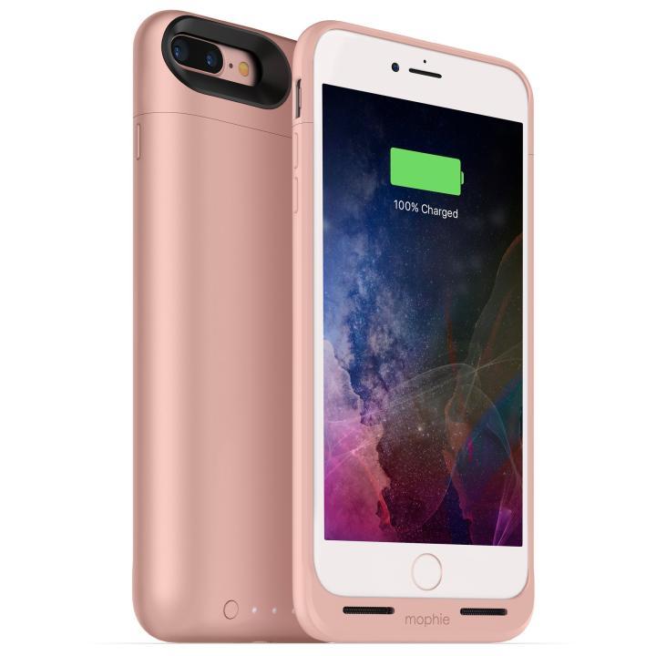 iPhone7 Plus ケース [2420mAh]ワイヤレス充電機能搭載 バッテリー内蔵ケース mophie juice pack air ローズゴールド iPhone 7 Plus_0