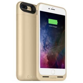 [2420mAh]ワイヤレス充電機能搭載 バッテリー内蔵ケース mophie juice pack air ゴールド iPhone 7 Plus