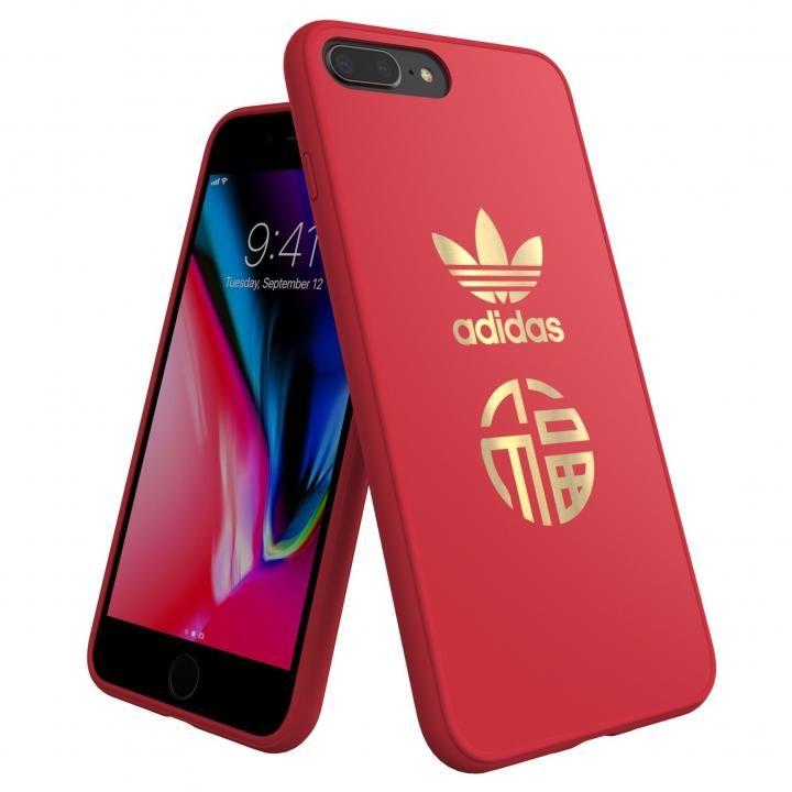 iPhone8 Plus/7 Plus ケース adidas Originals CNY スナップケース Scarlet iPhone 8 Plus/7 Plus_0