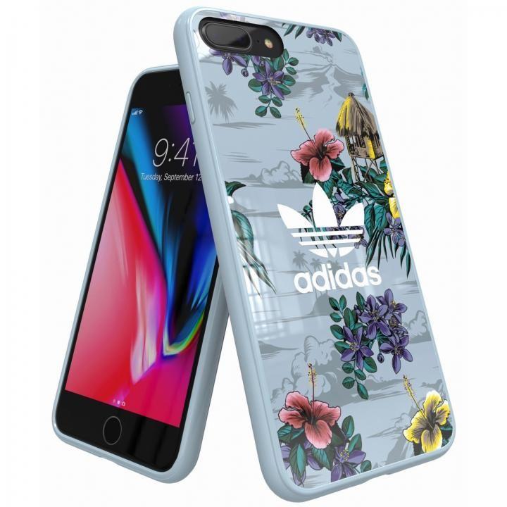 iPhone8 Plus/7 Plus ケース adidas Originals スナップケース Floral/Ash Grey iPhone 8 Plus/7 Plus/6s Plus/6 Plus_0