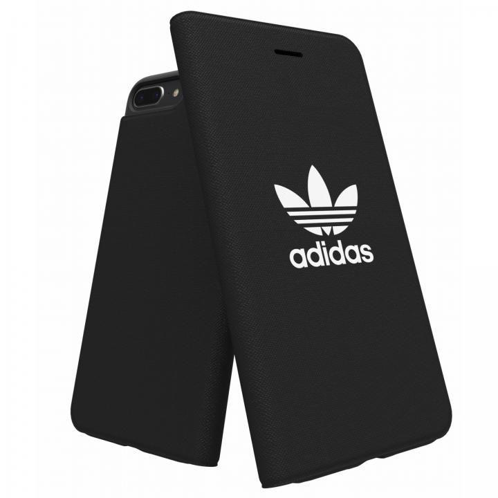 【iPhone8 Plus/7 Plusケース】adidas Originals Adicol 手帳型ケース iPhone 8 Plus/7 Plus/6s Plus/6 Plus ブラック_0