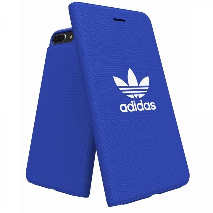 iPhone8 Plus/7 Plus ケース adidas Originals Adicol 手帳型ケース iPhone 8 Plus/7 Plus/6s Plus/6 Plus ブルー_0