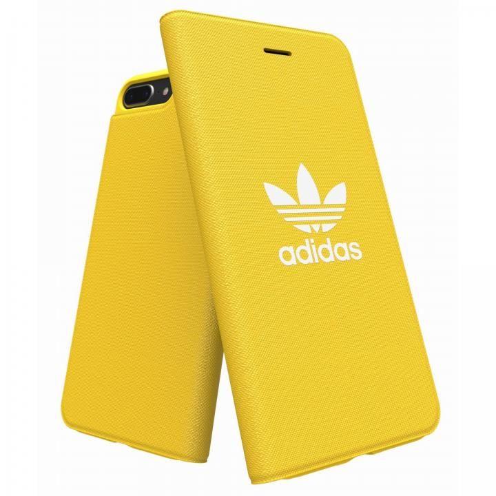 iPhone8 Plus/7 Plus ケース adidas Originals Adicol 手帳型ケース iPhone 8 Plus/7 Plus/6s Plus/6 Plus イエロー_0