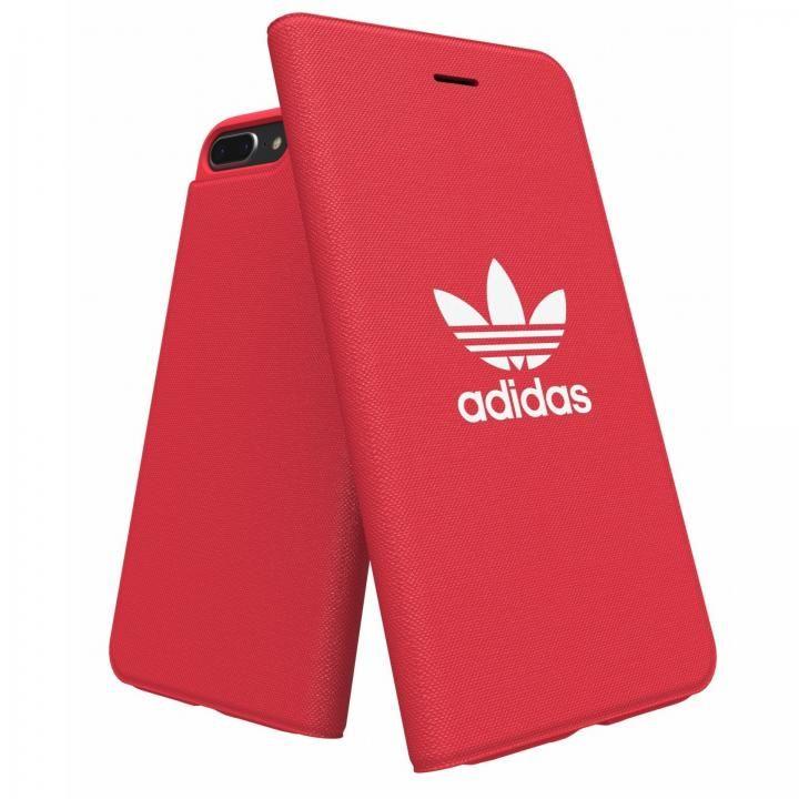 iPhone8 Plus/7 Plus ケース adidas Originals Adicol 手帳型ケース iPhone 8 Plus/7 Plus/6s Plus/6 Plus レッド_0