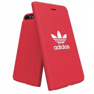 iPhone8 Plus/7 Plus ケース adidas Originals Adicol 手帳型ケース iPhone 8 Plus/7 Plus/6s Plus/6 Plus レッド