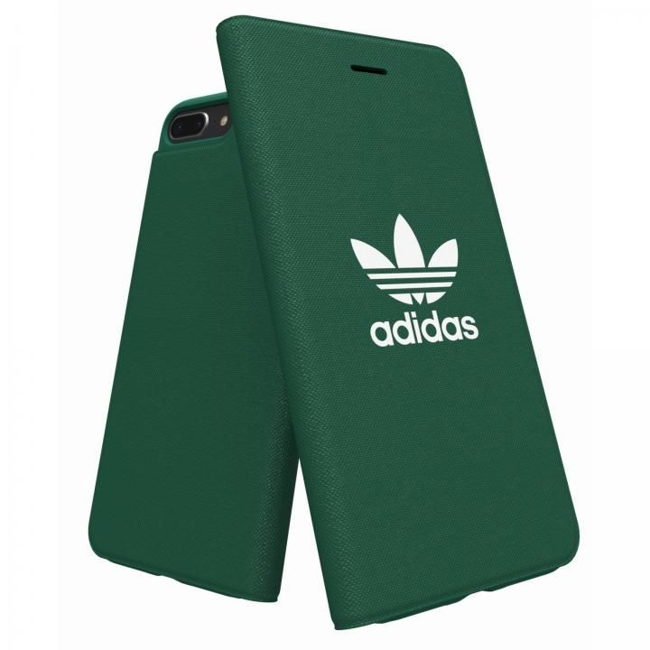 【iPhone8 Plus/7 Plusケース】adidas Originals Adicol 手帳型ケース iPhone 8 Plus/7 Plus/6s Plus/6 Plus グリーン_0