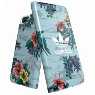 iPhone8/7/6s/6 ケース adidas Originals 手帳型ケース Floral/Ash Grey iPhone 8/7/6s/6