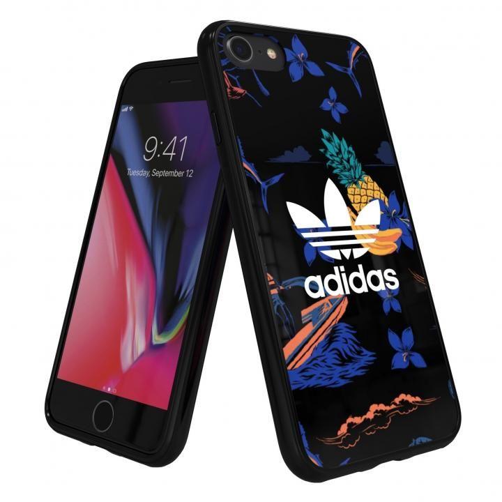【iPhone8/7/6s/6ケース】adidas Originals スナップケース Beach/Black iPhone 8/7/6s/6_0