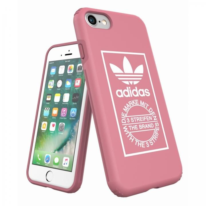 【iPhone8/7ケース】adidas Originals TPU/ハードケース Ash Pink iPhone 8/7_0