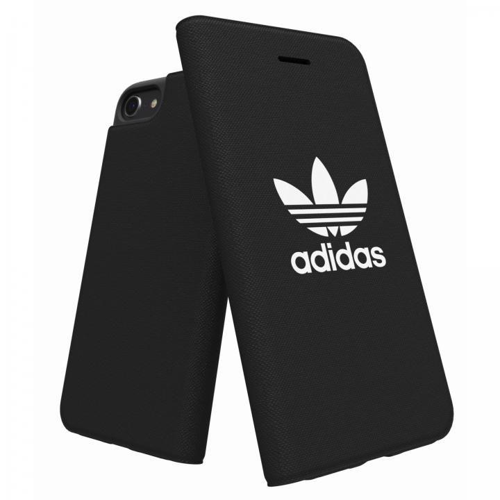 iPhone8/7/6s/6 ケース adidas Originals Adicol 手帳型ケース iPhone 8/7/6s/6 ブラック_0