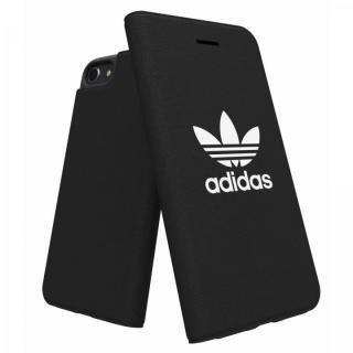 【iPhone6 ケース】adidas Originals Adicol 手帳型ケース iPhone 8/7/6s/6 ブラック