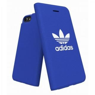 【iPhone8 ケース】adidas Originals Adicol 手帳型ケース iPhone 8/7/6s/6 ブルー