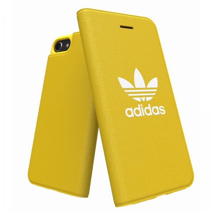【iPhone8/7/6s/6ケース】adidas Originals Adicol 手帳型ケース iPhone 8/7/6s/6 イエロー_0