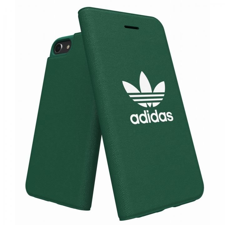 【iPhone8/7/6s/6ケース】adidas Originals Adicol 手帳型ケース iPhone 8/7/6s/6 グリーン_0