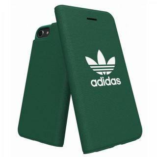 【iPhone8 ケース】adidas Originals Adicol 手帳型ケース iPhone 8/7/6s/6 グリーン