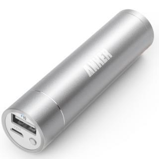 [3200mAh]Anker Astro Mini 第2世代 モバイルバッテリー シルバー