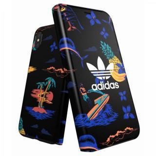 adidas Originals 手帳型ケース Beach/Black iPhone X