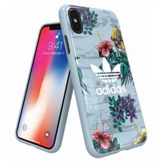 adidas Originals スナップケース Floral/Ash Grey iPhone XS/X