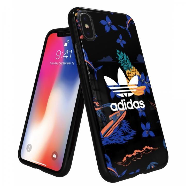 【iPhone XS/Xケース】adidas Originals スナップケース Beach/Black iPhone XS/X_0